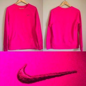 Nike Therma Fit Crew Neck Sweatshirt Thumb Holes